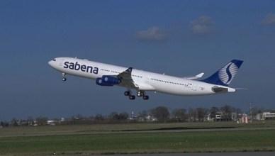 Met deze Airbus A340 voerde Sabena zijn laatste vlucht uit. SN690 uit Abidjan/Cotonou kwam twee dagen na het failliet toe in Zaventem