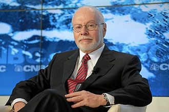 Paul Singer was een welkome gast op het World Economic Forum van 2013 in Davos
