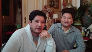 Martin Fernandez Guzman en Carlos Leonel George