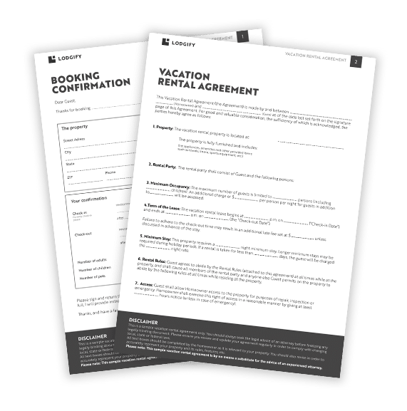Free Download: Vacation Rental Agreement Template