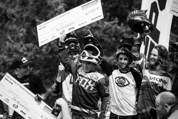 Finn Iles, wins the Whip-Off World Chanpionships