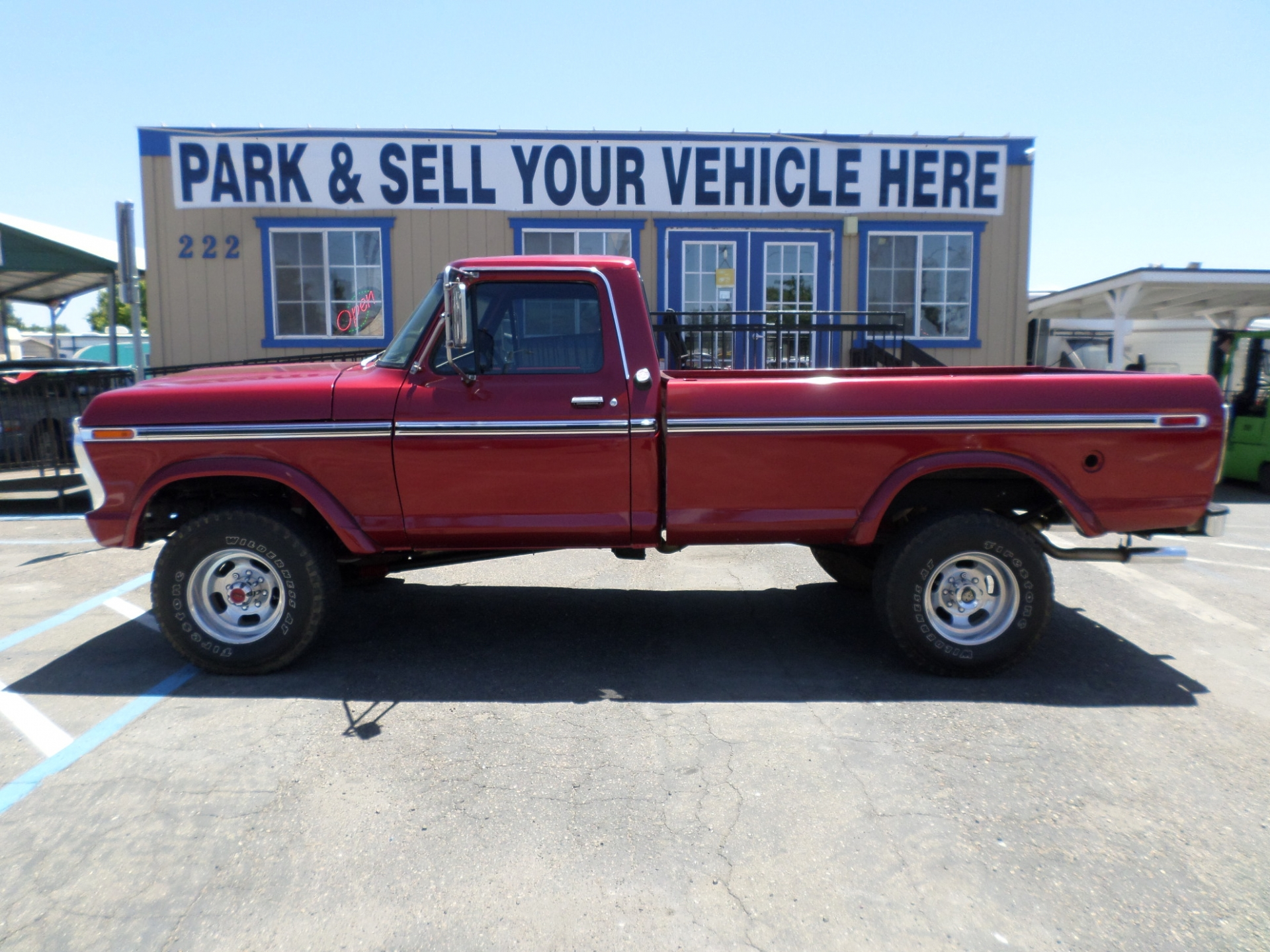 hight resolution of ford f250 ranger highboy 4x4 1975