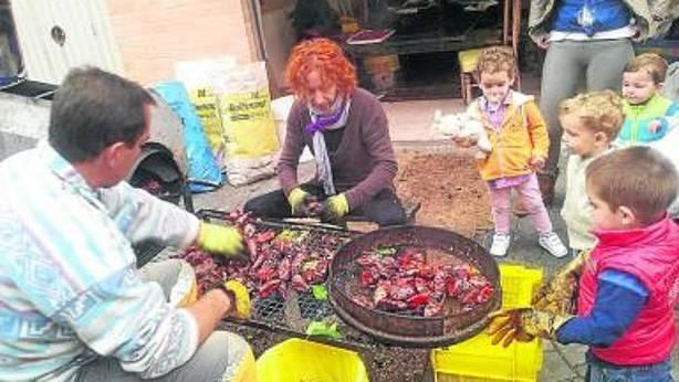 En Lodosa calidad de pimiento desde niños