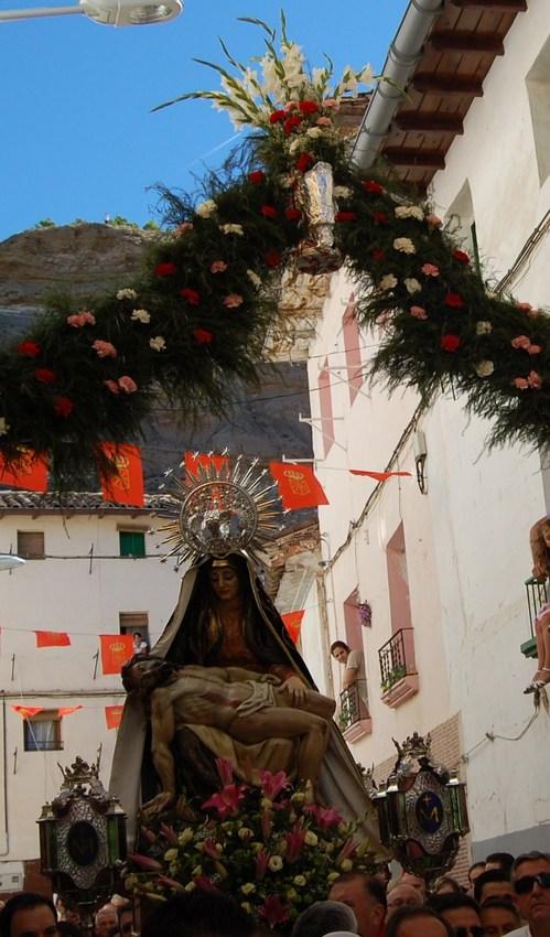 Angustias en el Barrio Nuevo. Foto de Isidro Gastón