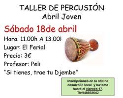 taller de percusion 2015