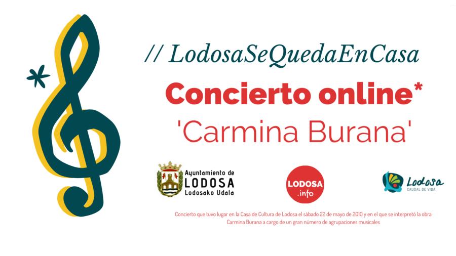 CONCIERTO ONLINE / Carmina Burana