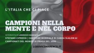 CAMPIONI NELLA MENTE E NEL CORPO | Intervista a Stefano Cipressi