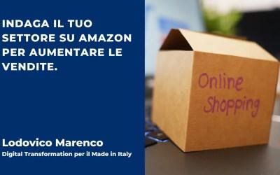 Indaga il tuo settore su Amazon per aumentare le vendite