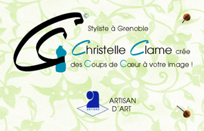 Carte De Visite Christelle Clame Pret A Porter