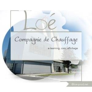 Compagnie de Chauffage : e-learning, com, affichage