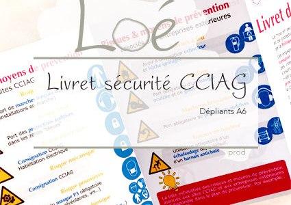 Livret sécurité de la CCIAG