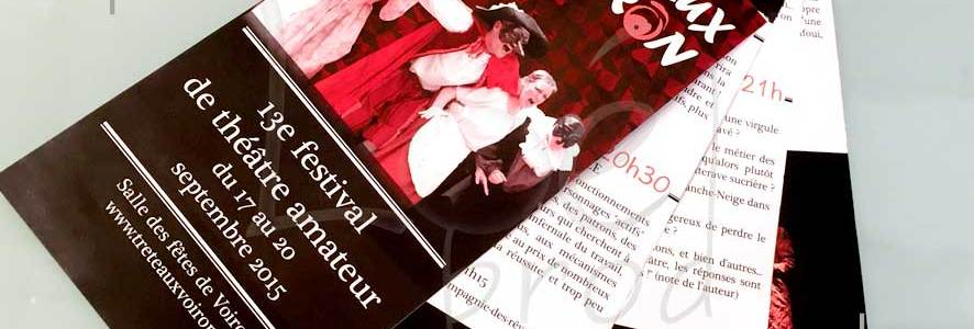 Le programme des Tréteaux de Voiron 2015