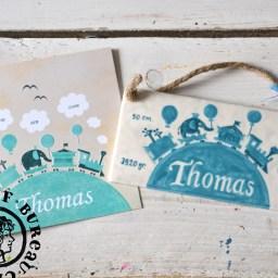 Geboortetegeltje van Thomas