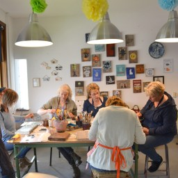 Workshop Hout Beschilderen