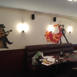 Thematische muurschildering