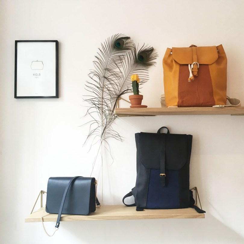 sacs à dos et sac à main Hiélo Paris
