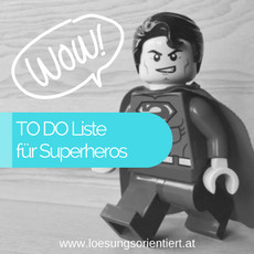 To Do liste für Superheros
