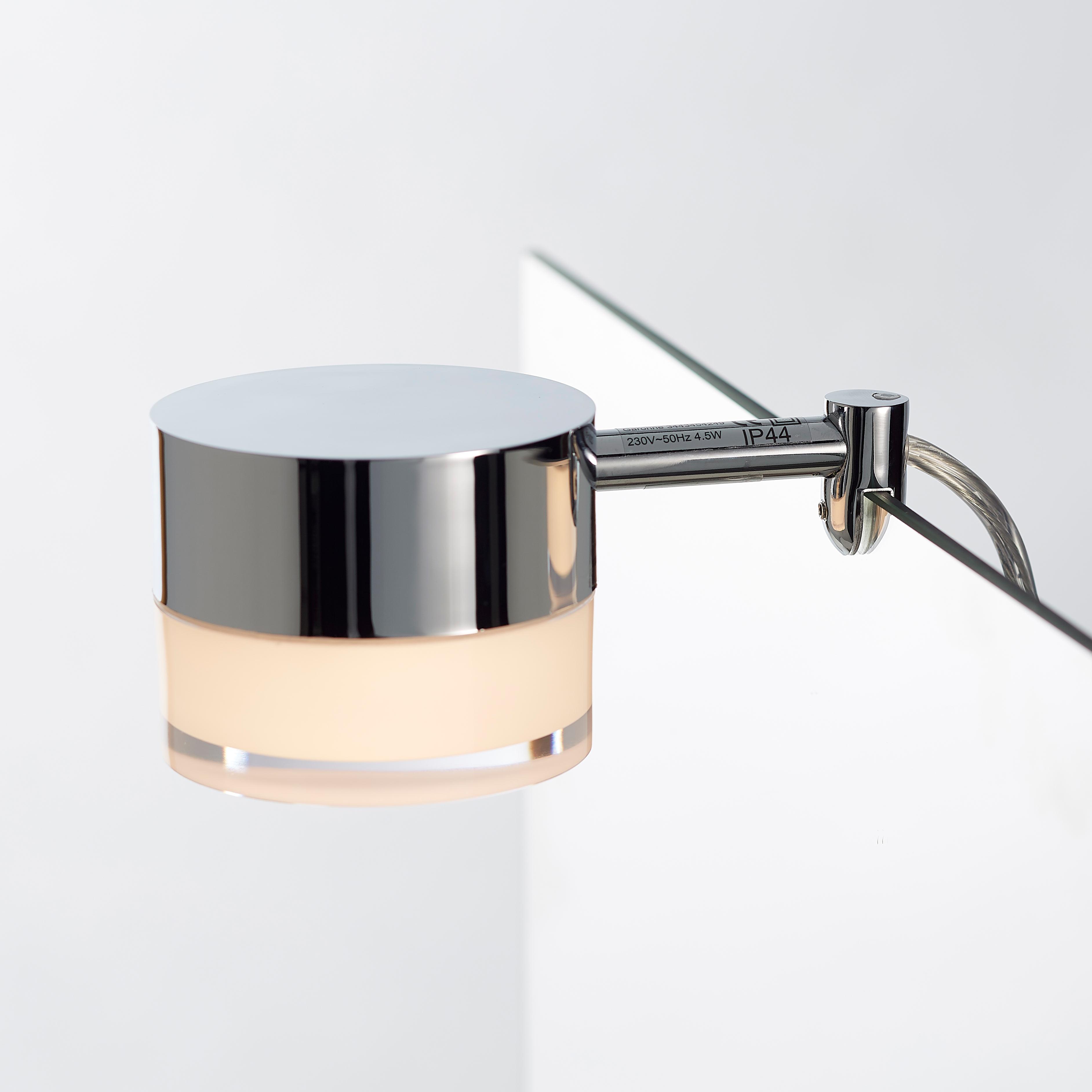 Garonne spejllampe, loevschall, led