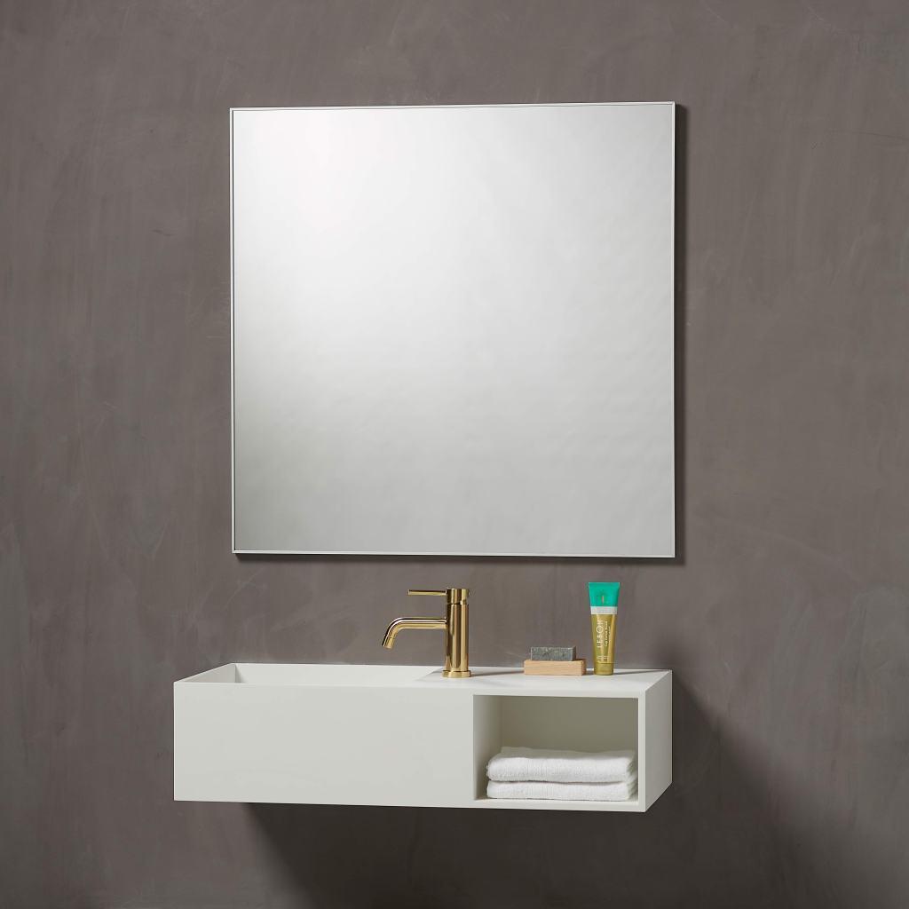 spejl fra loevschall firkantet