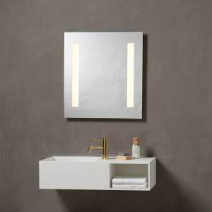 mirror, spejl, spejl med lys, lys, light, mirror light, Loevschall, LED, LED lys, LED light, spejl med lys, lys, light, mirror light, Loevschall, makeup spejl, makeup spejl med lys i, badeværelsesspejl, bathroom, bathroom mirror,