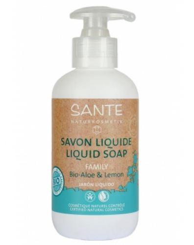 Sapone-liquido-aloe-limone-500ml-sante