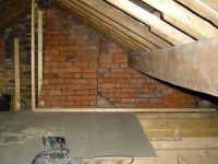 Loft Flooring From Chipboard To Hard Wood Floors