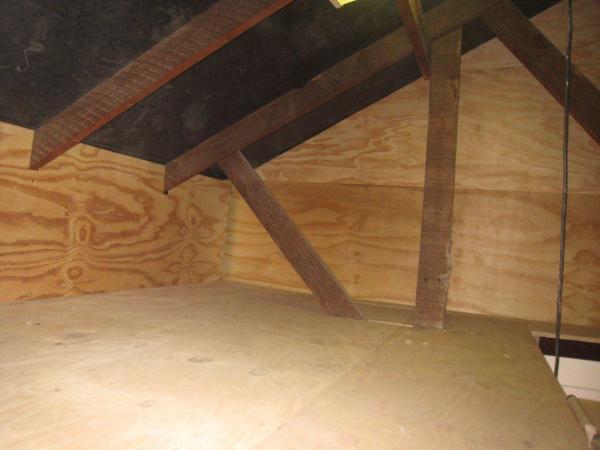 Utilise loft space