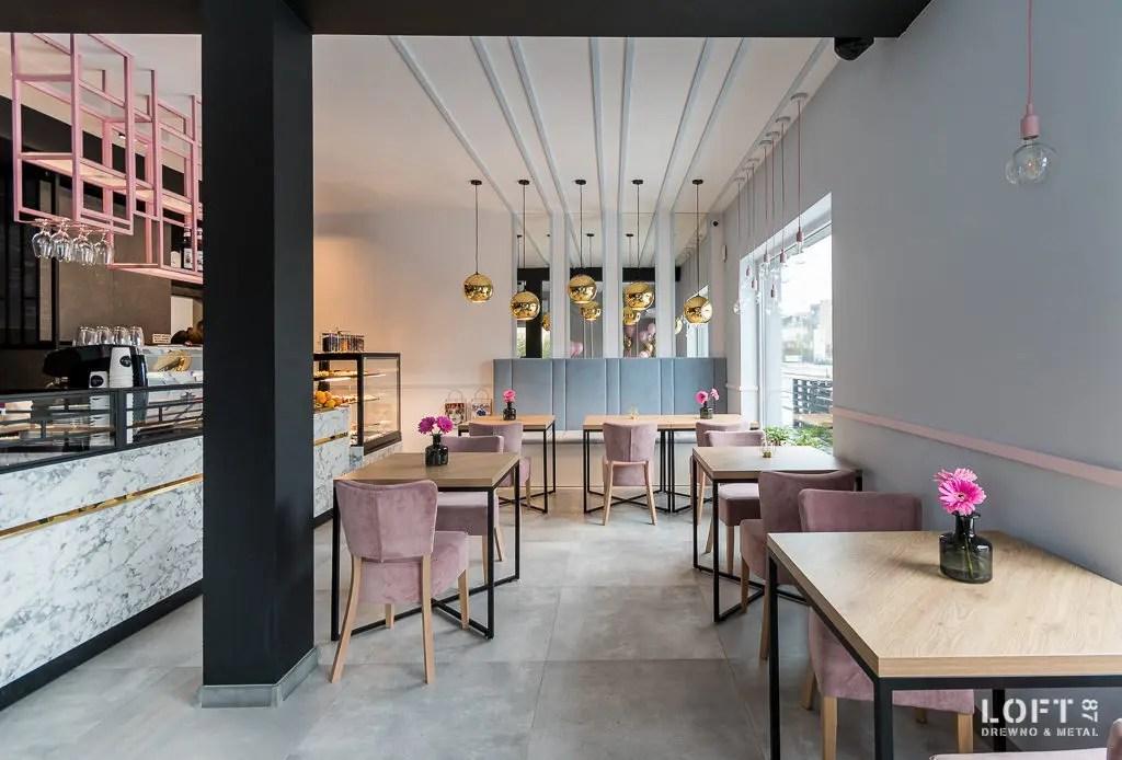 Realizacja Loft 87 kawiarnia Besova