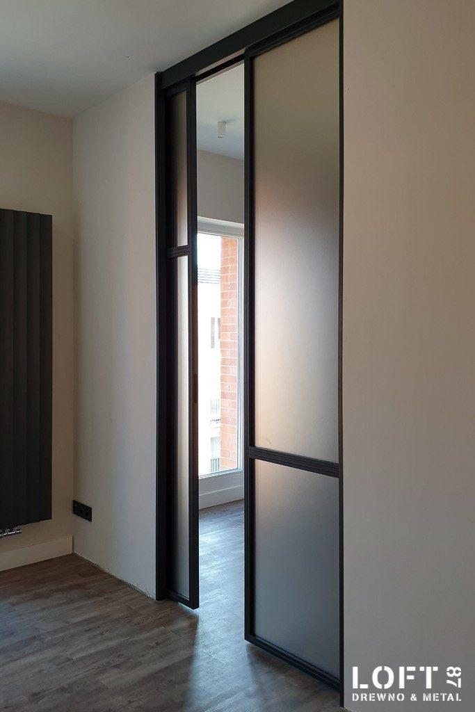 Loftowe drzwi przesuwane