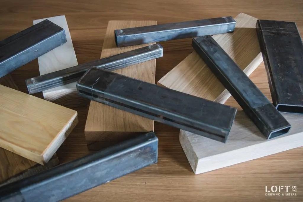 Drewno i metal Loft 87