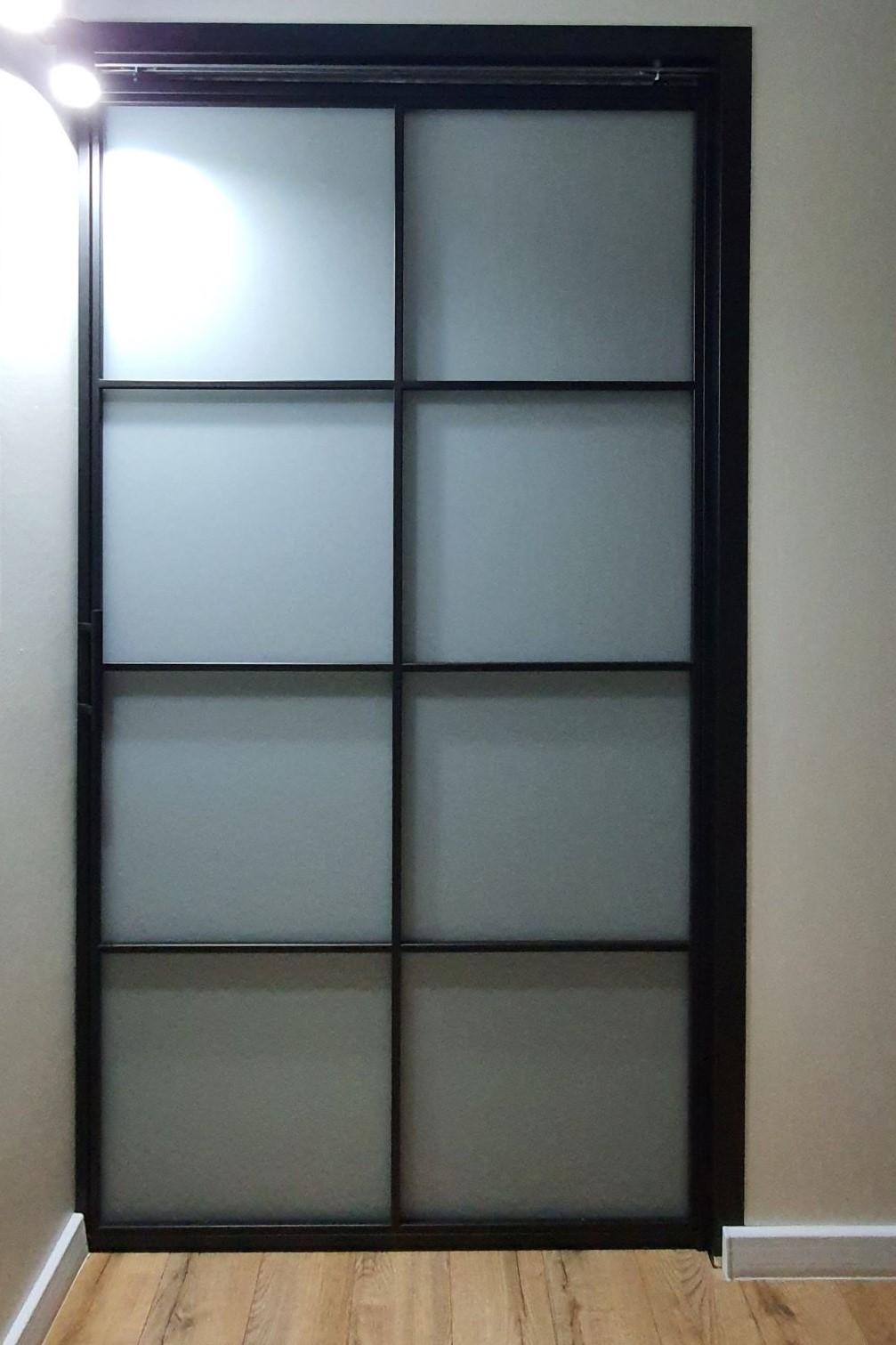 Loftowe drzwi przesuwane chowane w ścianie