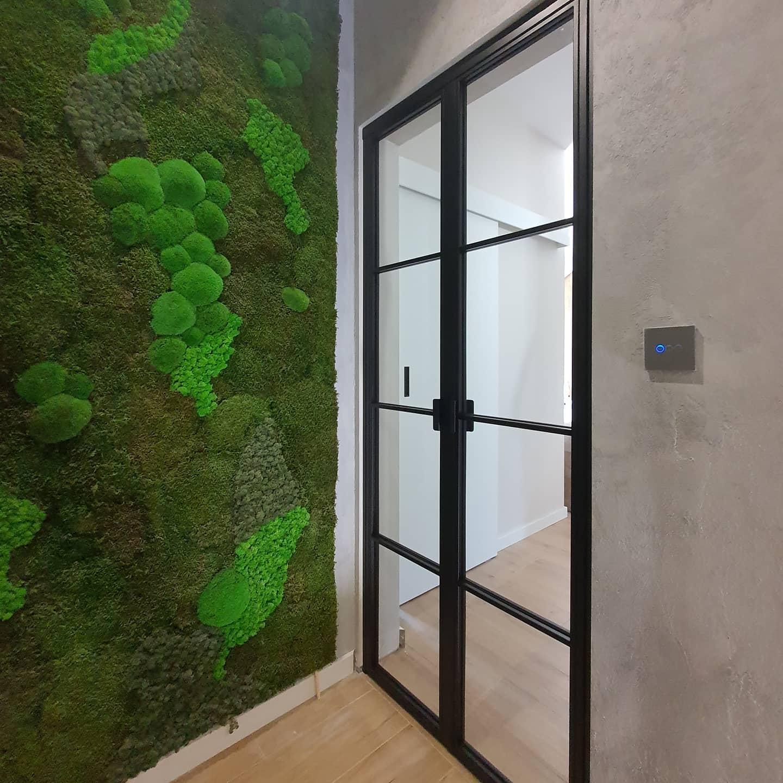 Loftowe drzwi dwuskrzydłowe