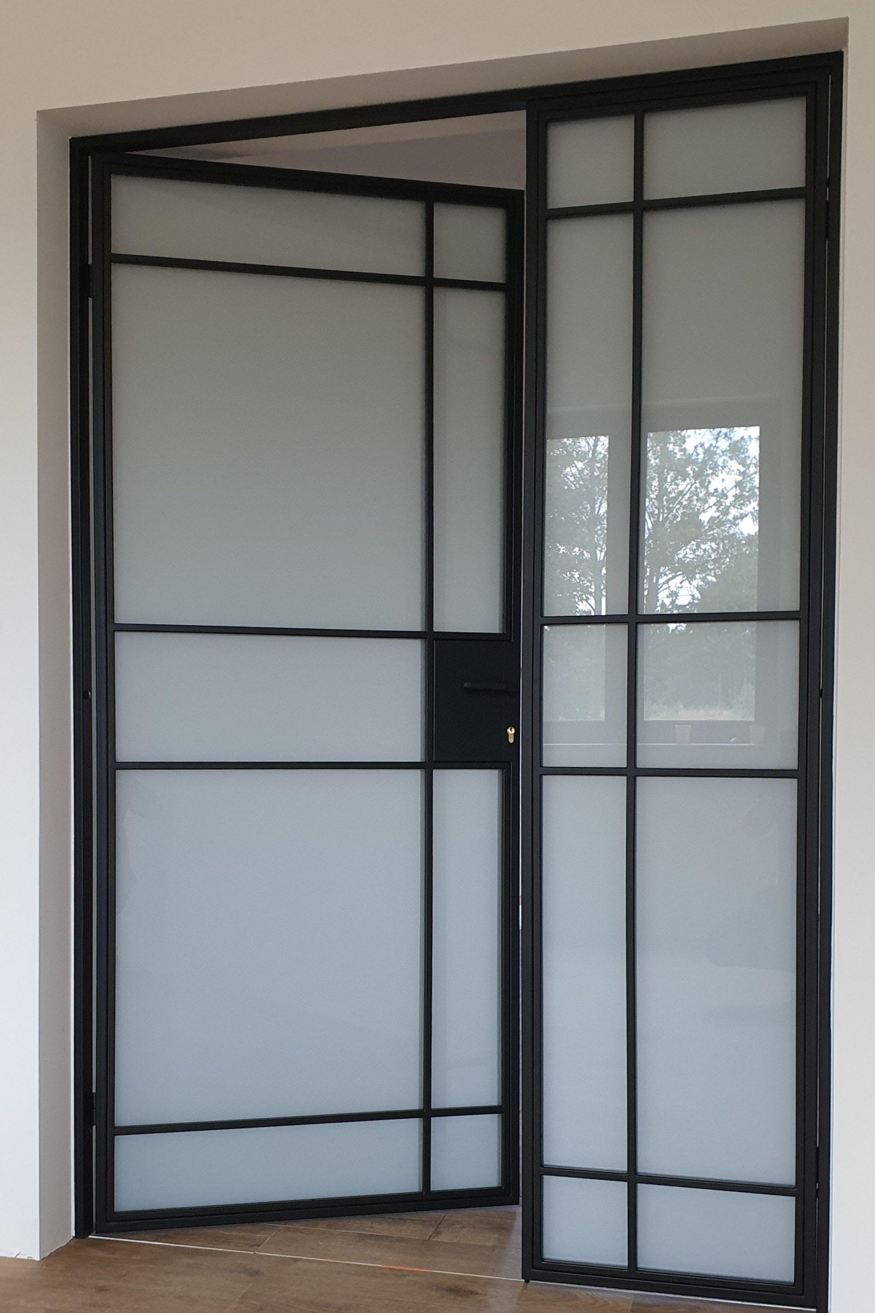Drzwi loftowe dwuskrzydłowe