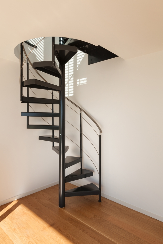 Spiral Staircases For Small Spaces | Spiral Staircase Into Loft | Loft Conversion | Small Spaces | Tiny House | Space Saving | Staircase Design
