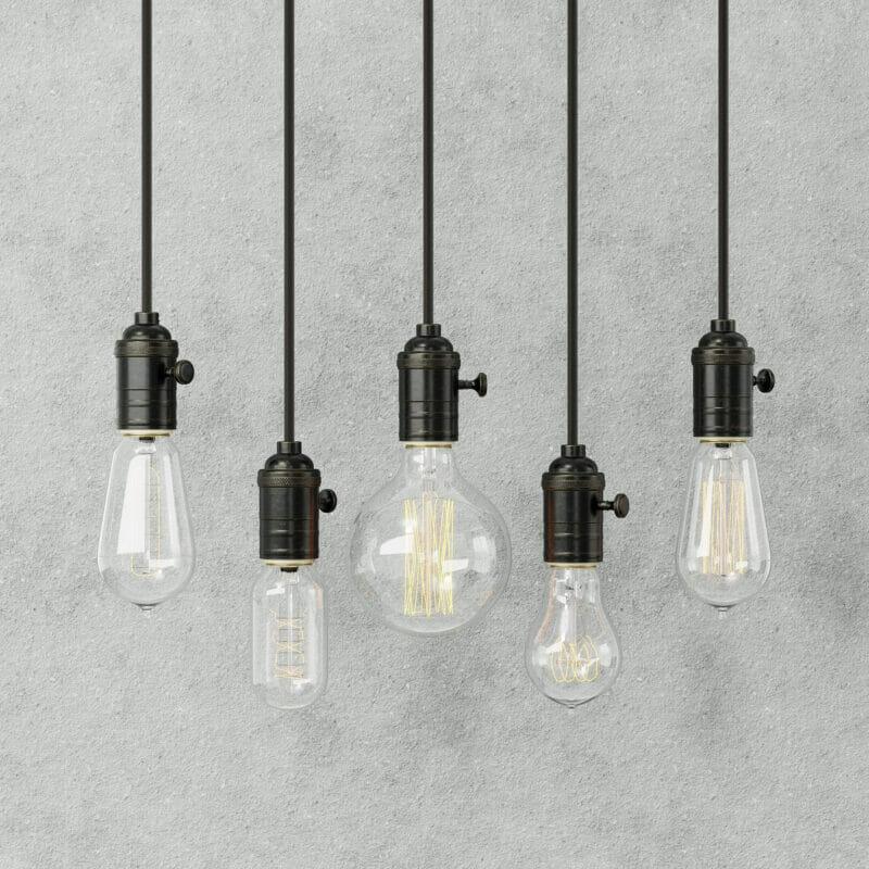 Industrile Loftbar als eettafel lamp Uniek industrieel