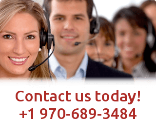 Contact us today at +1 970-689-3484