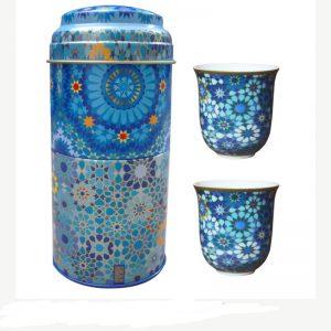 Images D'Orient Set 2 Bicchieri Caffè Porcellana Moucharabieh IDPOR902012