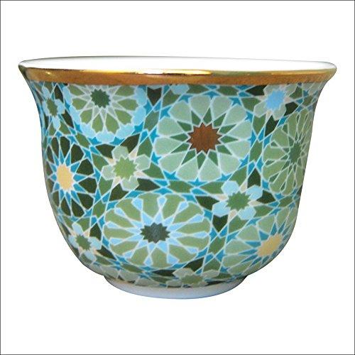 Images D' Orient–Set 2 Bicchieri Caffè Andalusia IDPOR902052