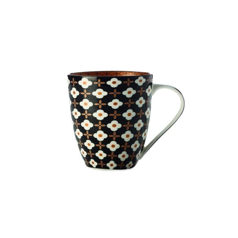 CHRISTOPHER VINE Marigold Mug – White Flower (500ml) CV60500