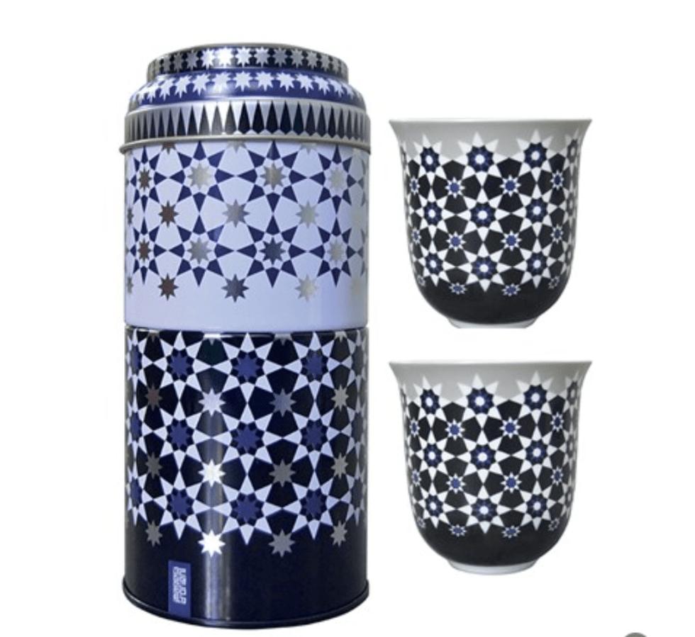 Set 2 Bicchieri Caffè Porcellana | Kaokab | Images D'Orient