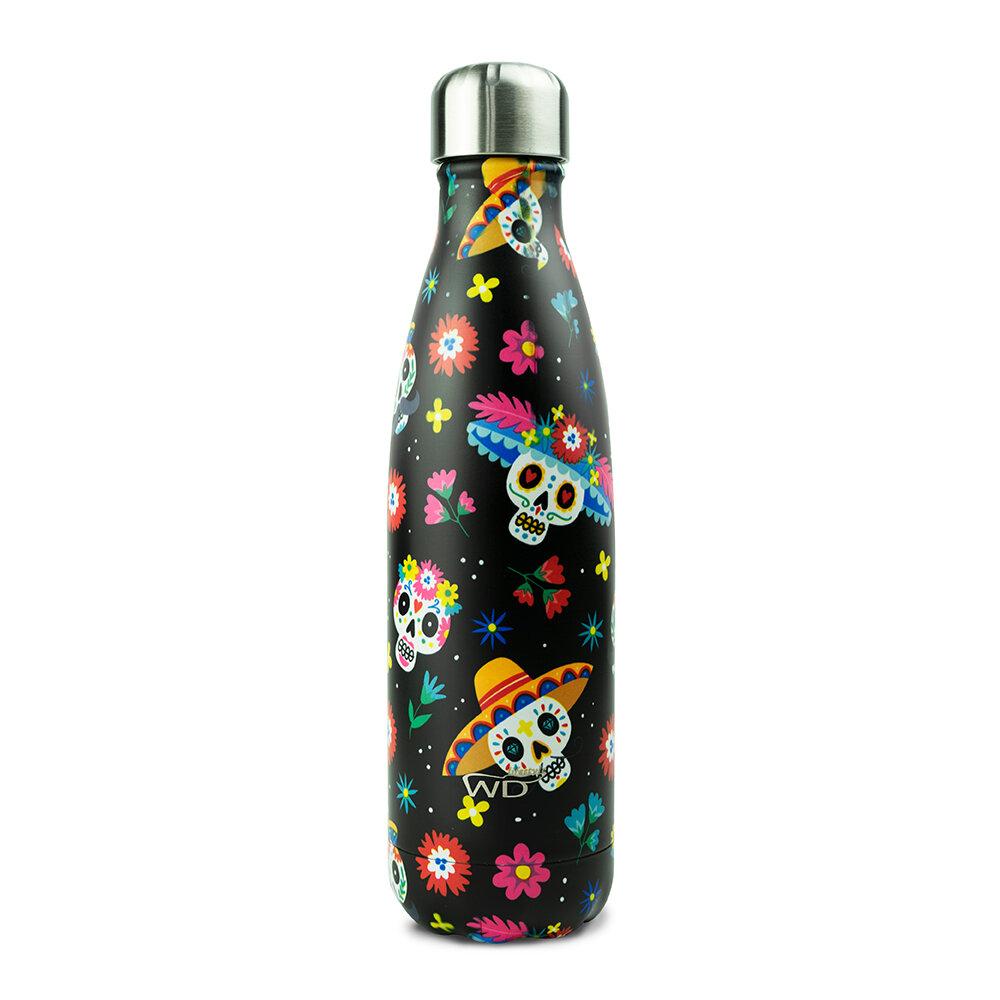 WD Lifestyle | Bottiglia Termica Con Decoro Messico 500 Ml