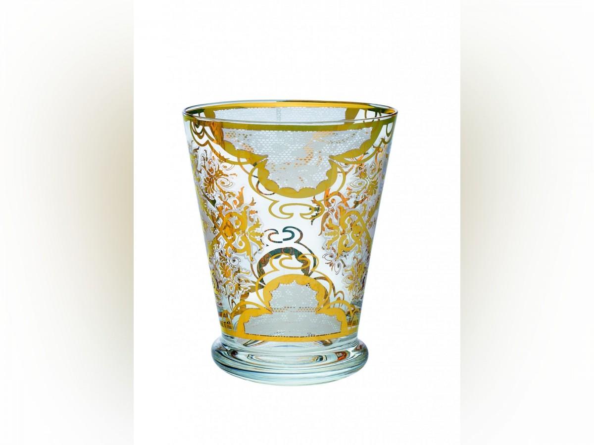 Tumbler Livellara DAMASCO White Bianco 300 Ml Set 2 Bicchieri