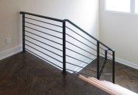 Exterior Metal Handrail. To Replace A Metal Exterior Stair