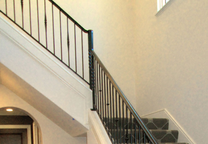 interior railings and banisters