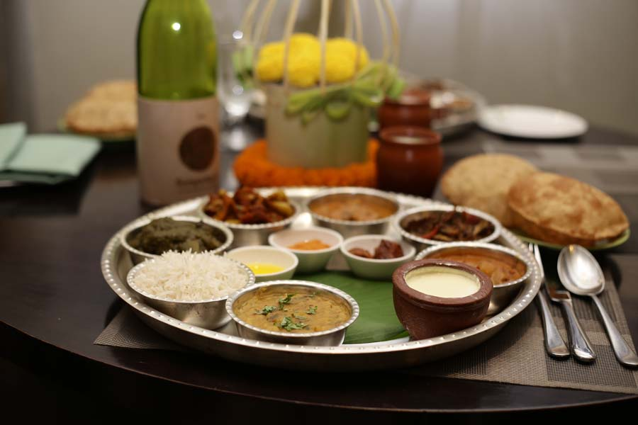 ITC GARDENIA-cubbon pavilion presents SATTVA- honestly vegetarian