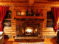 Cozy Cabin Fireplace   www.pixshark.com - Images Galleries ...
