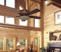 Ceiling Fans for Log Homes