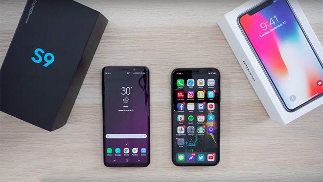 Samsung Galaxy S9 vs. iPhone X