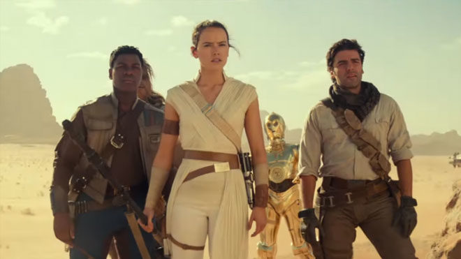 Star Wars: The Rise of Skywalker fortnite