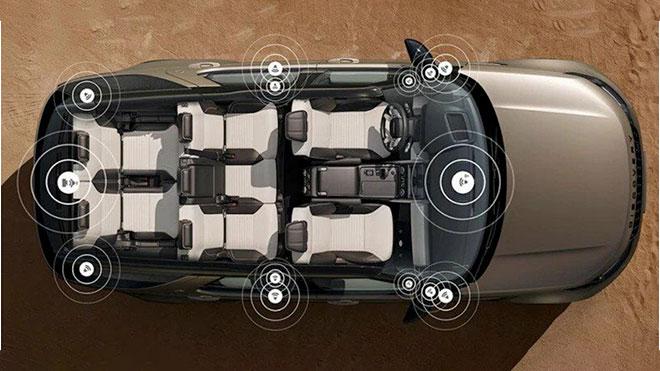 7 kişilik teknoloji üssü; Yeni Land Rover Discovery ile tanışın 18